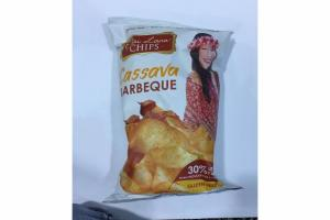 CASSAVA BARBEQUE CHIPS