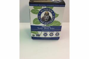 ORGANIC YERBA MATE TULSI HERBAL BLEND WITH STEVIA DIETARY SUPPLEMENT