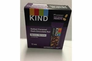 SALTED CARAMEL DARK CHOCOLATE NUT