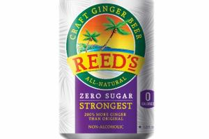 ZERO SUGAR STRONGEST CRAFT GINGER BEER