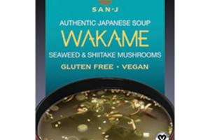 WAKAME SEAWEED & SHIITAKE MUSHROOMS JAPANESE ASIAN SOUP MIX