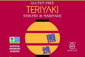 TERIYAKI STIR-FRY & MARINADE