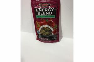 ENERGY BLEND EDAMAME, FLAVOR INFUSED CRANBERRIES ALMONDS & PUMPKIN SEEDS