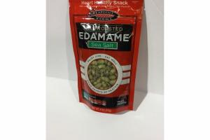 SEA SALT DRY ROASTED EDAMAME HEART HEALTHY SNACK