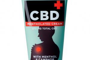 Cbd Mentholated Cream Topical Cannabidiol With Menthol & Camphor