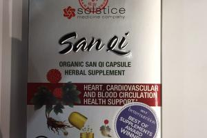 Organic San Qi Capsule Herbal Supplement