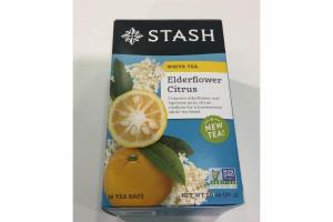 ELDERFLOWER CITRUS WHITE TEA
