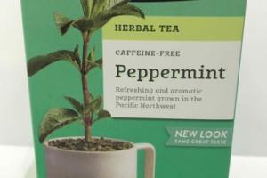 CAFFEINE-FREE PEPPERMINT HERBAL TEA BAGS