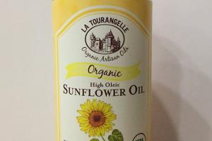 Organic High Oleic Sunflower Oil