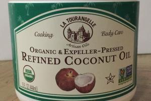 Organic & Expeller-pressed Refined Coconut Oil