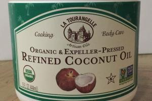 Organic & Expeller-pressed Refined Coconut Oil