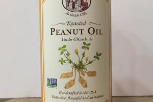 Roasted Peanut Oil
