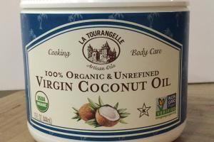 100% Organic & Unrefined Virgin Coconut Oil