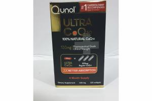ULTRA COQ10 100MG PHARMACEUTICAL GRADE CLINICAL STRENGTH DIETARY SUPPLEMENT SOFTGELS