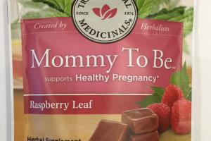 Mommy To Be Supports Healthy Pregnancy Herbal Supplement