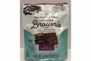DARK CHOCOLATE THINS BROWNIE PROTEIN