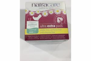 ORGANIC COTTON COVER ULTRA EXTRA PADS, NORMAL