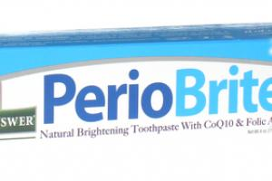 NATURALLY BRIGHTENING TOOTHPASTE WITH COQ10 & FOLIC ACID, WINTERMINT