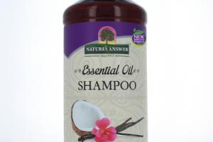 ESSENTIAL OIL SHAMPOO, COCONUT VANILLA