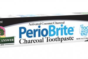 ACTIVATED COCONUT CHARCOAL TOOTHPASTE WITH TOOTH WHITENING ENZYME, PEPPERMINT