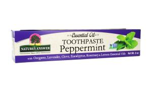ESSENTIAL OIL TOOTHPASTE, PEPPERMINT