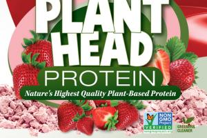 NATURE'S HIGHEST QUALITY PLANT-BASED PROTEIN DIETARY SUPPLEMENT, STRAWBERRY