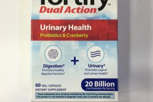 Urinary Health Dietary Supplement