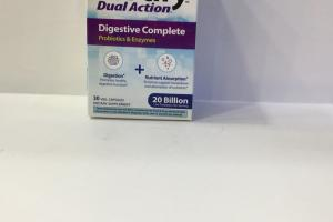 Dual Action Digestive Complete Dietary Supplement