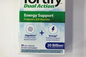 Fortify Dual Action Energy Support Dietary Supplement