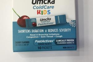 Coldcare Fastactives Powder, Cherry