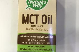 Mct Oil Plant-based 100% Potency Dietary Supplement
