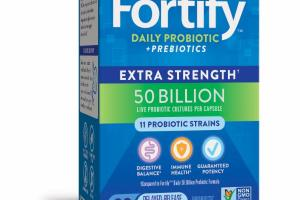 EXTRA STRENGTH DAILY PROBIOTIC + PREBIOTICS DELAYED-RELEASE VEG. CAPSULES PROBIOTIC SUPPLEMENT