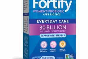 WOMEN'S PROBIOTICS + PREBIOTICS SUPPLEMENT CAPSULES