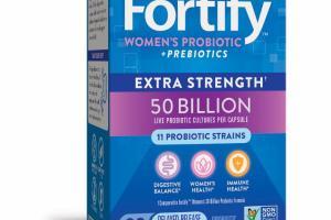 WOMEN'S PROBIOTIC DELAYED-RELEASE VEG. CAPSULES PROBIOTIC SUPPLEMENT