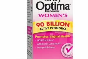 FORTIFY OPTIMA PROBIOTIC WOMEN'S VEGETARIAN CAPSULES DIETARY SUPPLEMENT