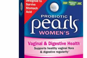 WOMEN'S VAGINAL & DIGESTIVE HEALTH PROBIOTIC SUPPLEMENT