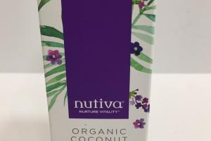 Organic Coconut Body Oil, Calming Lavender