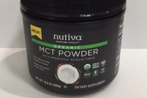 Organic Mct Powder With Prebiotic Acacia Fiber Dietary Supplement
