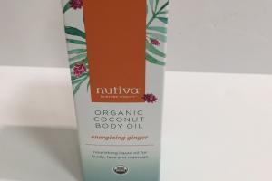 Organic Coconut Body Oil