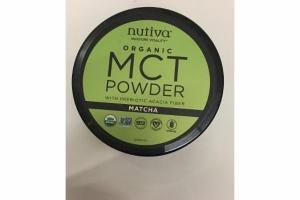 MATCHA ORGANIC MCT POWDER WITH PREBIOTIC ACACIA FIBER DIETARY SUPPLEMENT