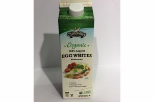 ORGANIC 100% LIQUID EGG WHITES