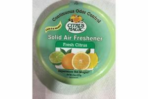 SOLID AIR FRESHENER, FRESH CITRUS