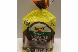 ORGANIC 5 GRAINS BREAD