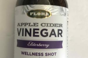 APPLE CIDER VINEGAR WELLNESS SHOT DIETARY SUPPLEMENT, ELDERBERRY