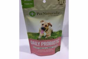 DAILY PROBIOTIC FOR DOGS OF ALL SIZES SUPPORTS DIGESTIVE & IMMUNE FUNCTIONS CHEWS