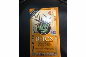 DETOX CLEANSING & REVITALIZING HERBAL DIETARY SUPPLEMENT TEA BAGS