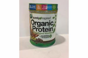 DECADENT CHOCOLATE ORGANIC PROTEIN PLANT-BASED NUTRITION