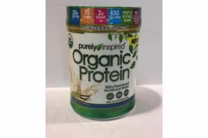 FRENCH VANILLA ORGANIC PROTEIN 100% PLANT-BASED NUTRITIONAL SHAKE