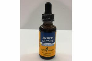 ANXIETY SOOTHER NERVOUS SYSTEM HERBAL SUPPLEMENT