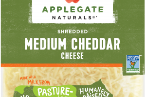 SHREDDED MEDIUM CHEDDAR CHEESE